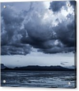 Blue Morning Taal Volcano Philippines Acrylic Print