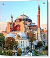Blue Mosque Acrylic Print