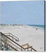 Blue Mountain Beach II Acrylic Print