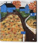 Blue Mountain Farm Acrylic Print