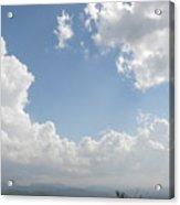 Blue Mountain Sky Acrylic Print