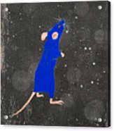 Blue Mouse Acrylic Print