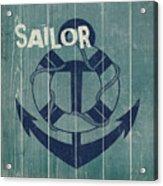 Blue Nautical-jp3614 Acrylic Print