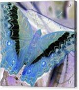 Blue Negative Acrylic Print