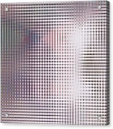 Blue Neon Acrylic Print