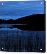 Blue Night Falling Acrylic Print