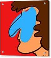 Blue Nose Acrylic Print
