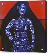 Blue Nun Target Acrylic Print