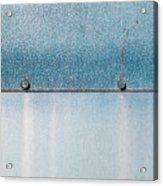 Blue Over Blue 03 Acrylic Print