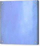 Blue Pallet Acrylic Print