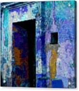 Blue Passage By Michael Fitzpatrick Acrylic Print