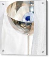 Blue Pearl Champagne Acrylic Print