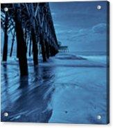 Blue Pier Acrylic Print