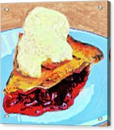 Blue Plate Special Acrylic Print