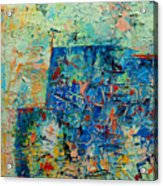 Blue Play 1 Acrylic Print
