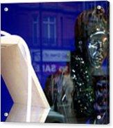 Blue Queen Acrylic Print