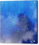 Blue Reflection Iv Acrylic Print