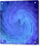 Blue Rendevous Acrylic Print