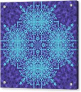 Blue Resonance Acrylic Print