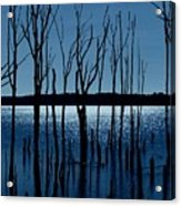 Blue Reservoir - Manasquan Reservoir Acrylic Print