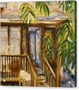 Blue Ridge Cabins Blue Ridge Mountains Acrylic Print