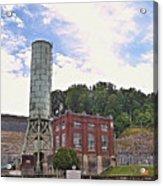 Blue Ridge Dam 4 Acrylic Print