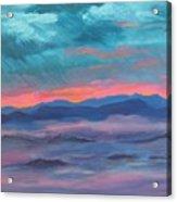 Blue Ridge I Acrylic Print