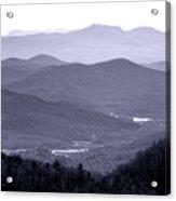 Blue Ridge Impression Acrylic Print