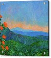 Blue Ridge Morning Acrylic Print