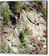 Blue Ridge Mountain Acrylic Print