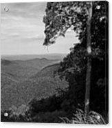 Blue Ridge Mountains - Virginia Bw 10 Acrylic Print