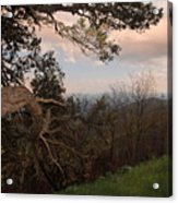 Blue Ridge Mts Acrylic Print