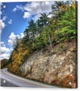 Blue Ridge Parkway, Buena Vista Virginia 3 Acrylic Print