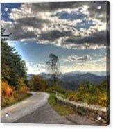 Blue Ridge Parkway, Buena Vista Virginia Acrylic Print