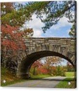Blue Ridge Parkway Stone Arch Bridge Acrylic Print