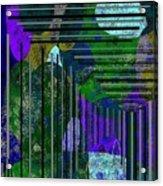 Blue Ridge Progression Acrylic Print