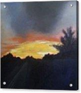 Blue Ridge Sunrise Acrylic Print