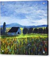 Blue Ridge Valley Acrylic Print