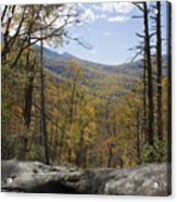 Blue Ridge View Acrylic Print