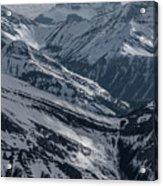 Blue Rockies Acrylic Print