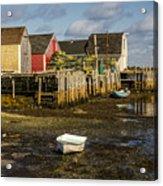 Blue Rocks, Nova Scotia Acrylic Print
