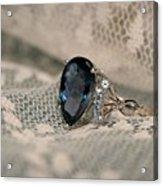 Blue Sapphire Acrylic Print