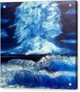 Blue Sea Acrylic Print