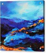 Blue Shades Acrylic Print