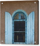 Blue Shutters Acrylic Print