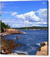 Blue Skies In Maine Acrylic Print
