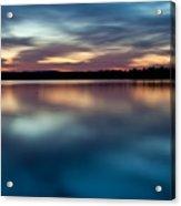 Blue Skies Of Reflection Acrylic Print