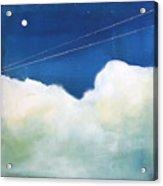 Blue Sky Birds Acrylic Print