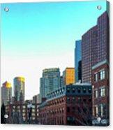 Blue Sky Boston Acrylic Print