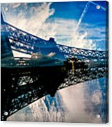 Blue Sky In Paris  Acrylic Print